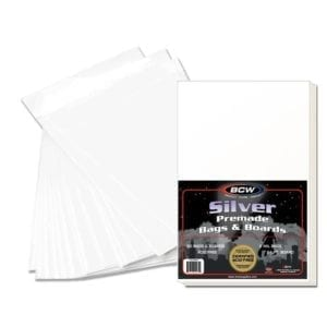 1000 BCW Current Modern Comic Book RESEALABLE Poly Bags Backer Boards