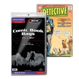 BCW 1-SIL Silver age comic book 100 bags
