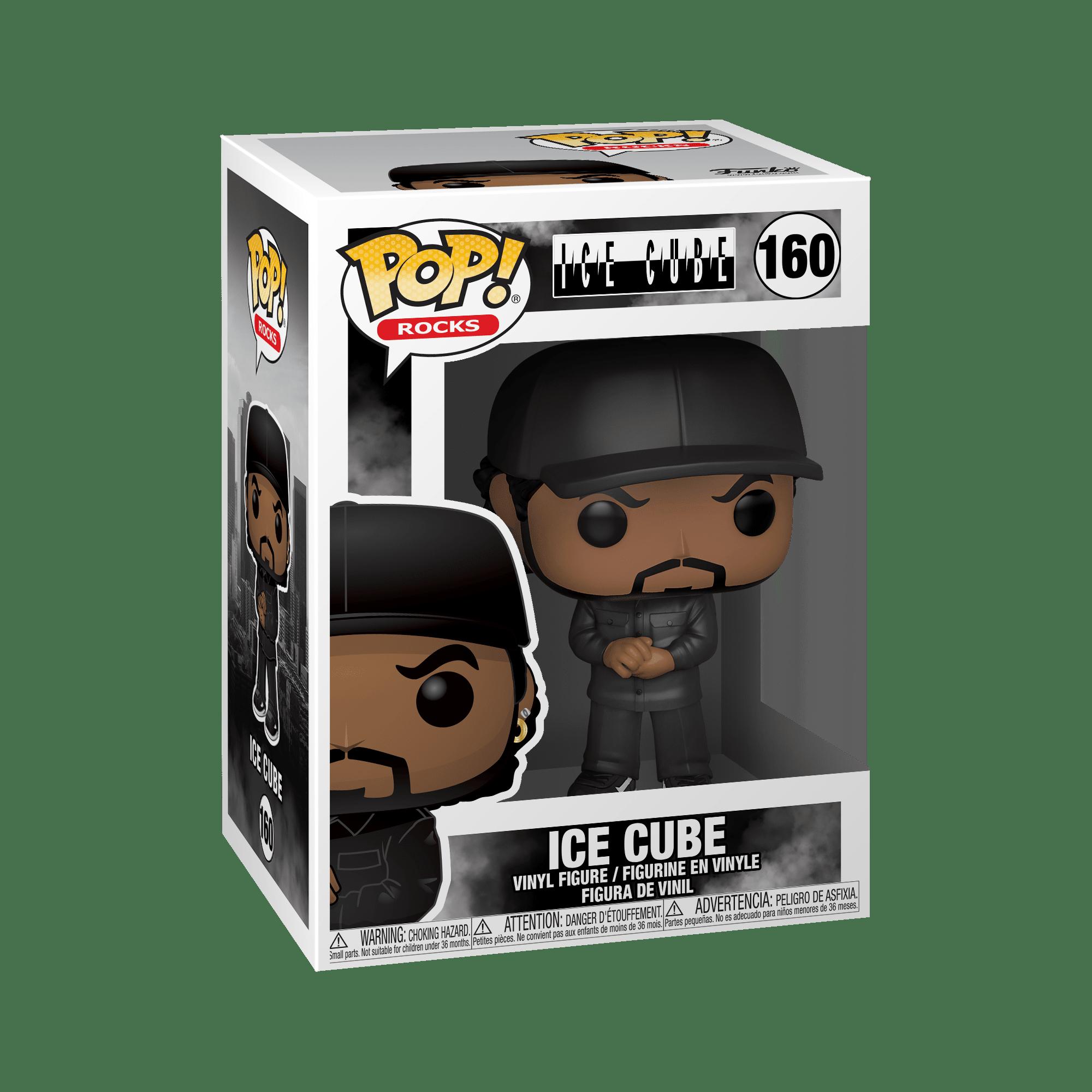 Funko Pop Rocks Ice Cube Hip Hop Rap Music 160 NWA Compton Straight outta